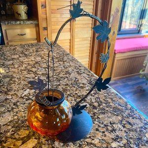 Pier One Pumpkin Tea Light Holder